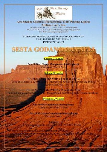 Scarica Programma - FISE Liguria