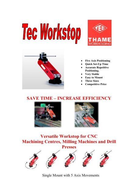 Workstop - Thame Workholding