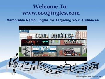Memorable Radio Jingles