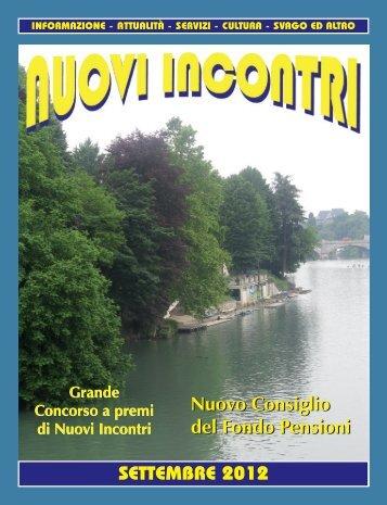 SETTEMBRE 2012 Nuovo Consiglio del Fondo ... - Aspenscrt.it