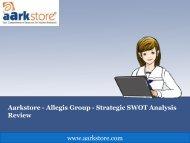 Aarkstore - Allegis Group - Strategic SWOT Analysis Review