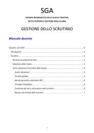 Manuale SGA scrutinio - Icvillalagarina.it