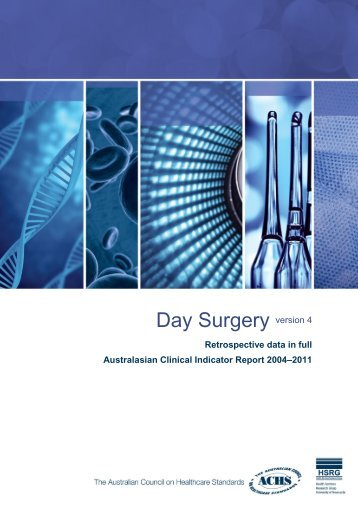 Day Surgery version 4 - Australian Council on Healthcare Standards