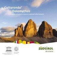 Prospetto Culturonda® Dolomythos - Alta Badia