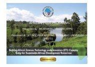 ATPS-Wairimu-African Case Study Presentations - SET-DEV
