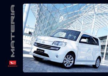 Catalogo Materia - Daihatsu