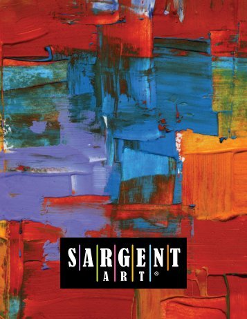 Download Pdf Catalog - Sargent Art