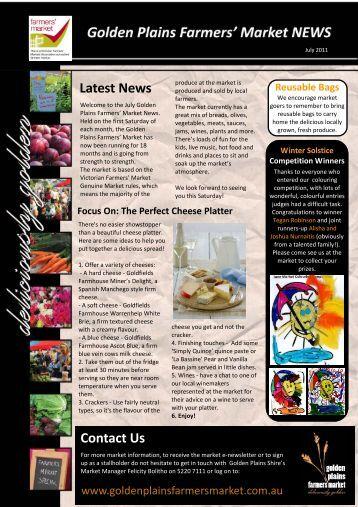 Farmers' Market Newsletter July 2011.pub - Golden Plains Shire