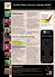 Market Newsletter February 2011_FB.pub - Golden Plains Shire