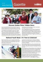 Gazette - Golden Plains Shire