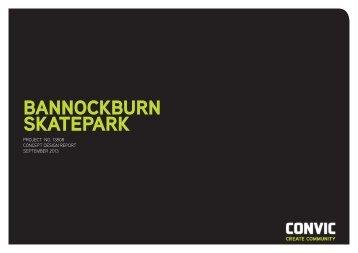 Draft Bannockburn Skate Park Design - Golden Plains Shire