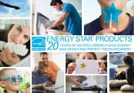 ENERGY STAR Products: 20 Years of Helping America Save Energy