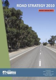 Road Strategy 2010 (revised 2013) - Golden Plains Shire
