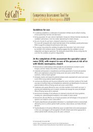 Care of febrile neutropenia - Cancer Learning