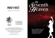 Download the event invitation [pdf] - The Official Blog of Park West ...