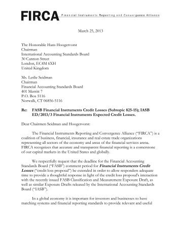 letter to iasb Fasb and iasb convergence efforts comment letters to the 2008 roadmap the sec work plan the work plan includes consideration of ifrs, both as they currently exist and after the completion of the various convergence projects.