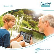 Oase - Wassergärten – Teichpumpen - 2015
