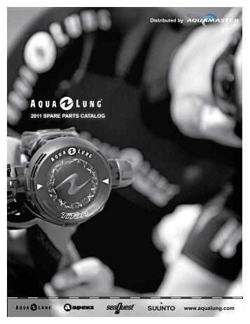 Aqua Lung Spare part catalogue 2011 - Aqua Master