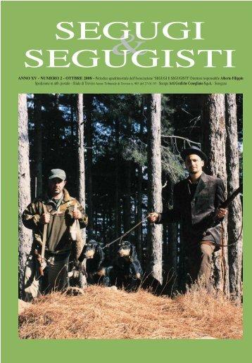 SEGUGI & SEGUGISTI Anno XV Numero 2 - Ottobre 2008