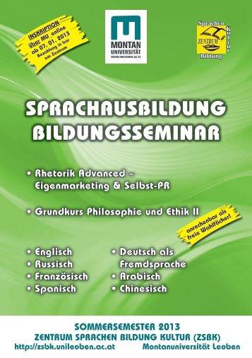 zum Sprachprogramm - Zentrum für Sprachen, Bildung & Kultur