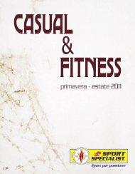 CATALOGO CASUAL FITNESS Primavera Estate 2011 20cm X 25 ...