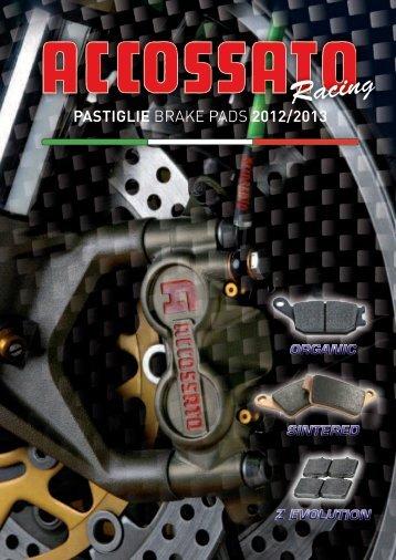 pastiglie BRAKE PADS 2012/2013 - atc racingparts