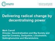 DCLG presentation - East Midlands Councils