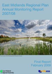 2007/08 Annual Monitoring Report (February 2009) - East Midlands ...