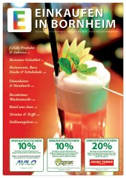 Einkaufen in Bornheim Ausgabe 2-2015