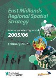 East Midlands Regional Spatial Strategy 2005/06