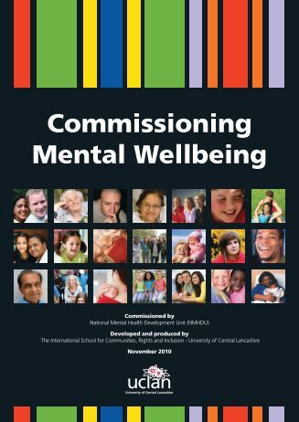 Commissioning Mental Wellbeing - East Midlands Councils
