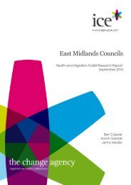East Midlands Councils- Health and Migration toolkit report -Nov 2010