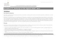 """""""Seelsorge an der eigenen Seele"""" 2012 Syllabus - ISA-Institut intro"""