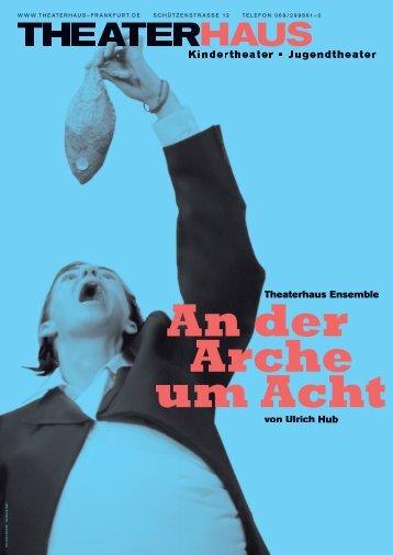 Plakat & Programmheft PDF - Frankfurt, Theaterhaus