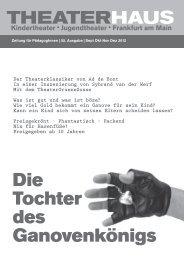 Theaterhaus Zeitung September bis Dezember 2012 - Frankfurt ...