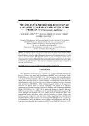 multiplex pcr method for detection of variability in genes - Nova ...