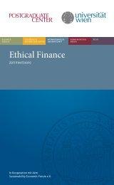Ethical Finance - Genius Juniors