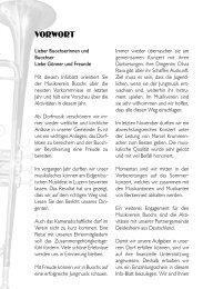 Vorwort des Vorstands - Musikverein Buochs
