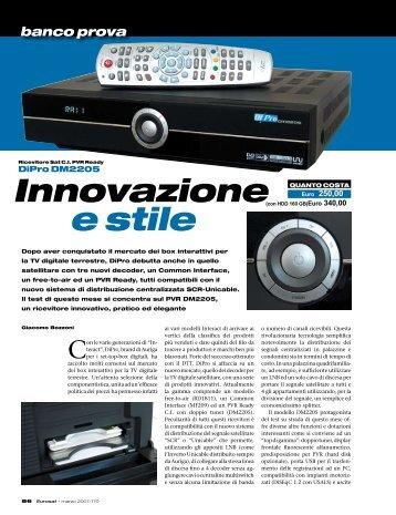Innovazione e stile - Auriga
