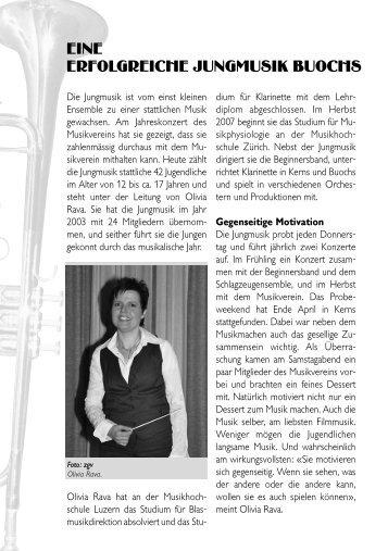 Infoblatt 2007 - Musikverein Buochs