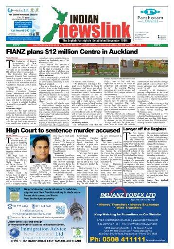 Indian Newslink April 1, 2015 Digital Edition