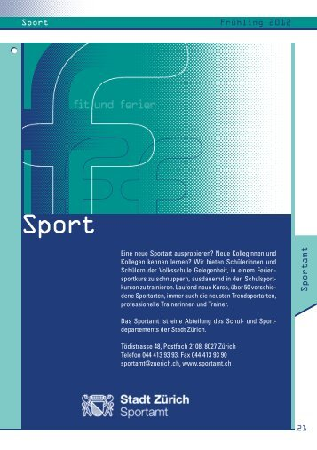 Anmeldeschluss: 19. März 2012 - Belvoir Ruderclub Zürich