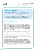 Treatments for advanced prostate cancer: - Prostate Scotland - Page 6