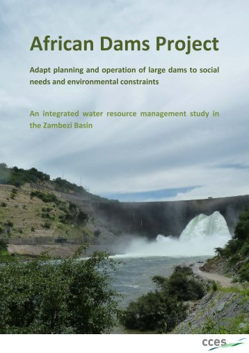 African Dams Project - CCES - ETH Zürich