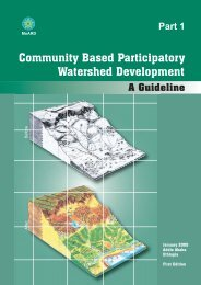 Community Based Participatory Watershed Development