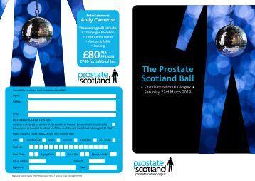 £80PEr - Prostate Scotland