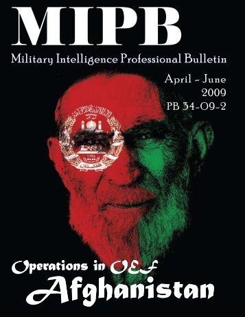 Military Intelligence Professional Bulletin - Federation of American ...