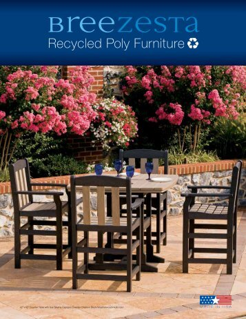 Recycled Poly Furniture - Balboa Company