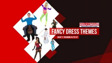 Hollywood Fancy Dress Trends for 2015