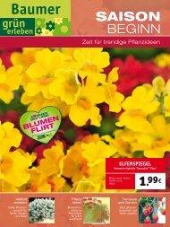 geranie 3,-79 nur 3,99 Balkon- pflanzenerde 45 l 2 - Gärtnerei ...